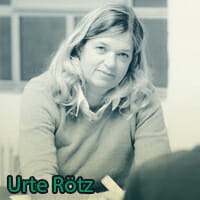 Dozentin Urte Rötz
